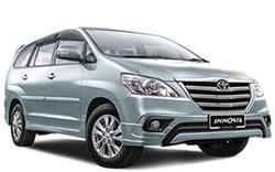Toyota Innova Taxi from Bangkok to Hua Hin